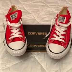 NWOT Converse sneakers red